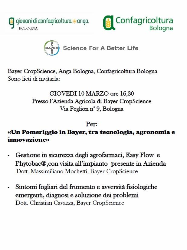 A.N.G.A. Bologna - Incontro del 10 marzo 2016