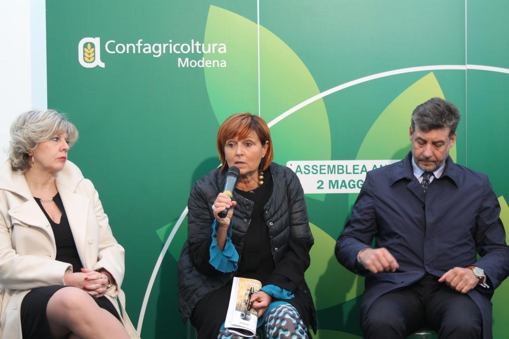 Confagricoltura_Modena_Assemblea2016_Caselli_Bergamaschi_Guidi