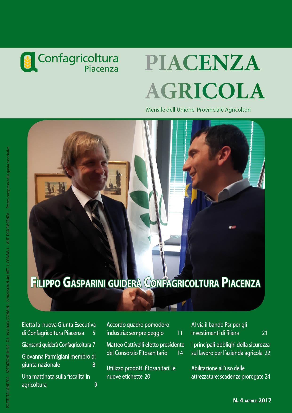 Piacenza Agricola - Aprile 2017
