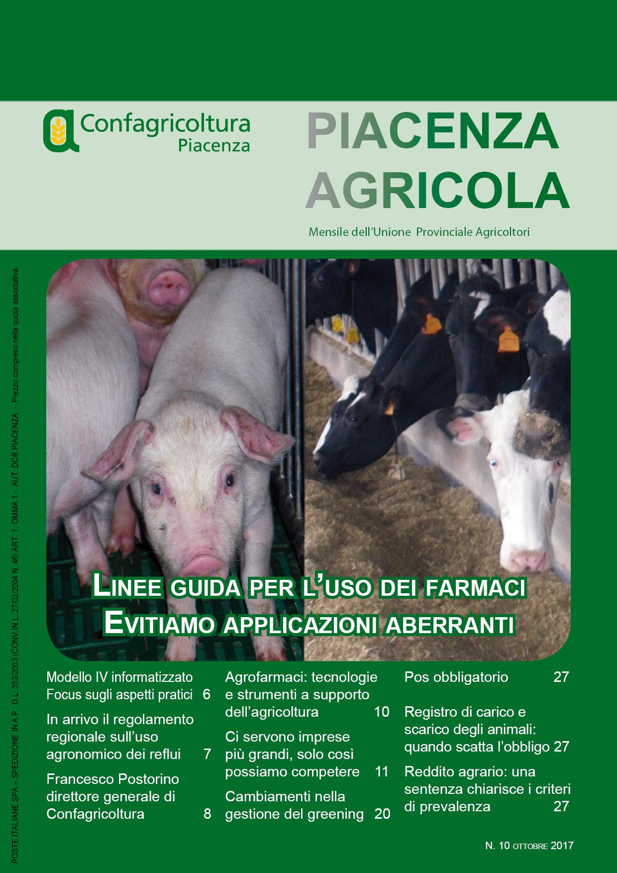 Piacenza Agricola - Ottobre 2017