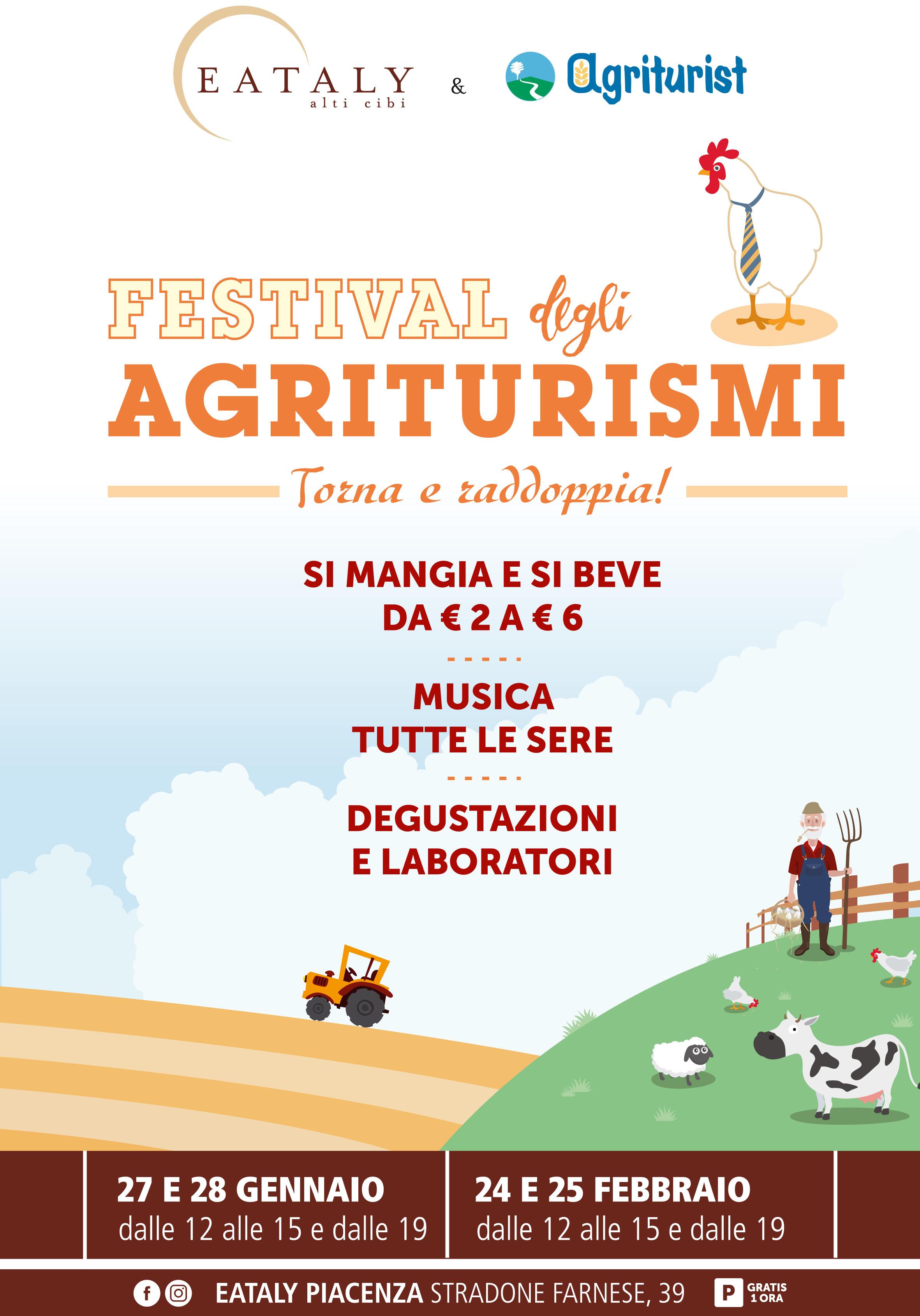 FESTIVAL degli AGRITURISMI - Torna e raddoppia!