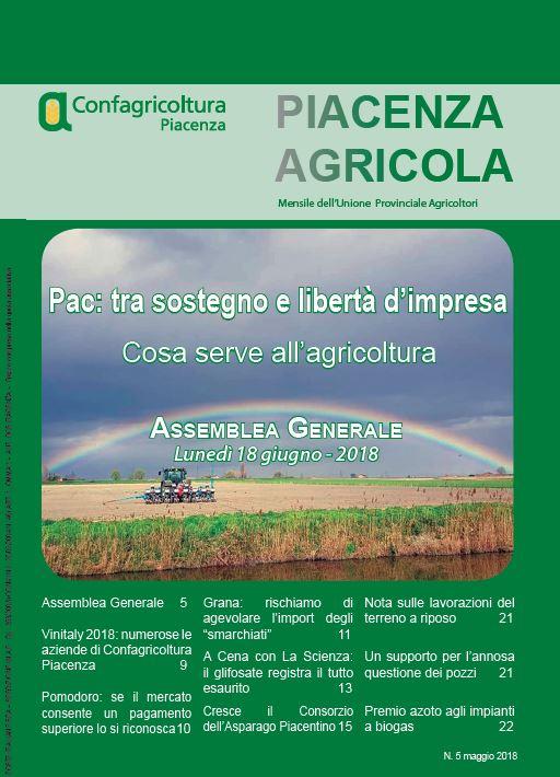 Piacenza Agricola - Maggio 2018