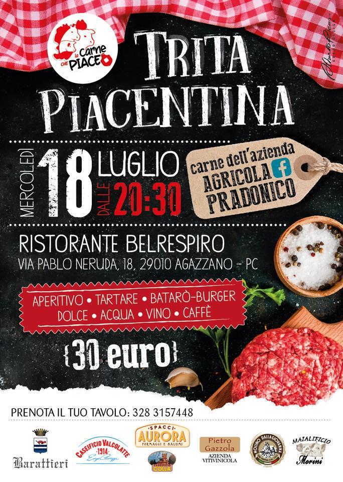 La trita piacentina @ RISTORANTE BELRESPIRO  | Agazzano | Emilia-Romagna | Italia