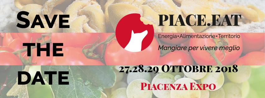 PIACE.EAT 27, 28, 29 OTTOBRE 2018 @ Piacenza Expo | Piacenza | Italia