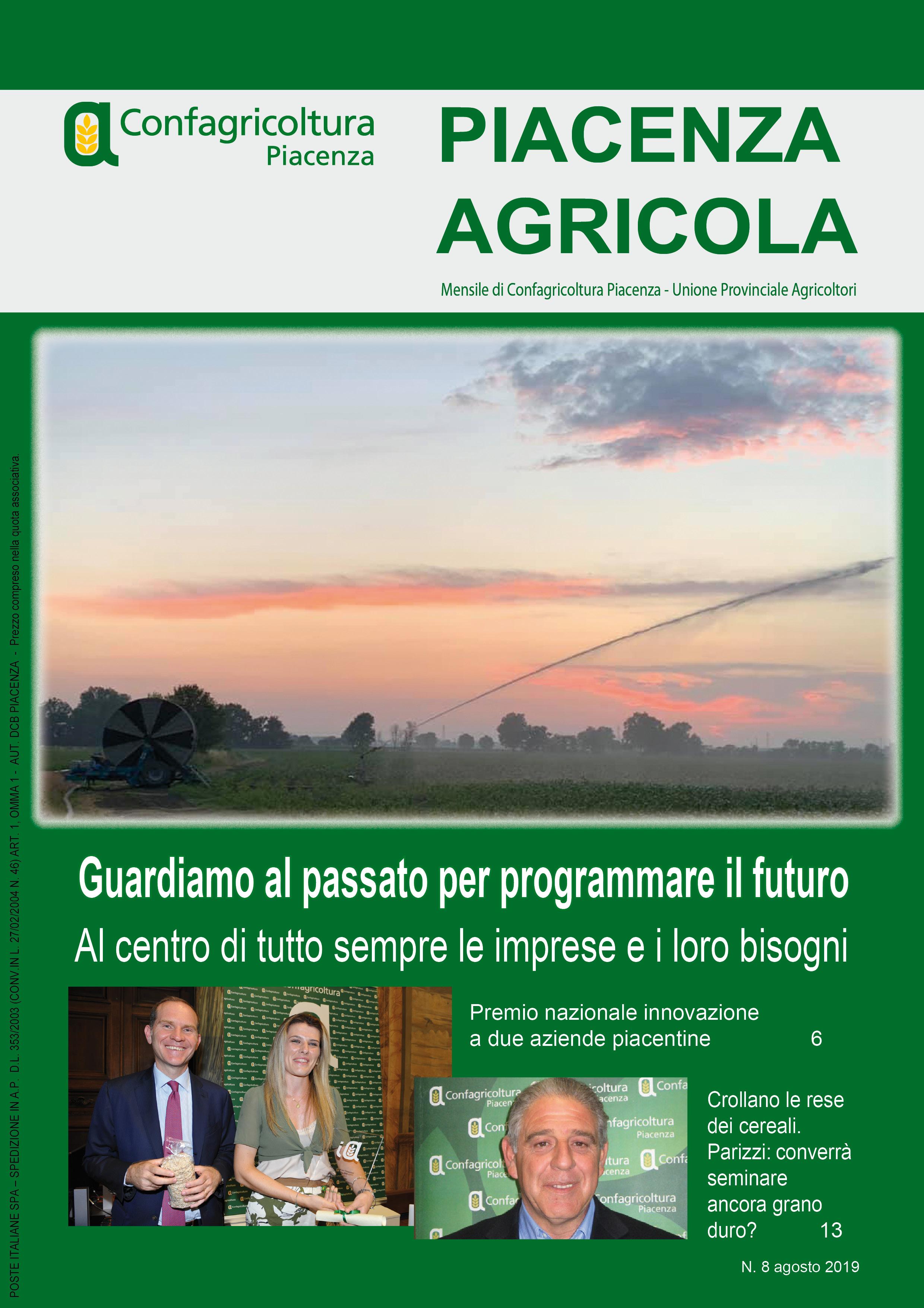 Piacenza Agricola - Agosto 2019